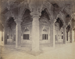 Colonnade of the Ibrahim Rauza, Bijapur